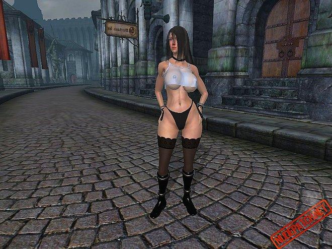 Nude female texture