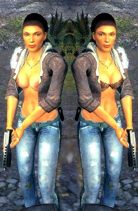 alyx nude mod half life 2