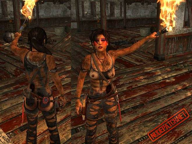 Superstar Laura Croft Nude Patch Images
