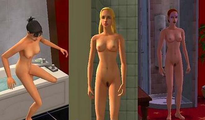 Opinion the Downloads nude sims skin