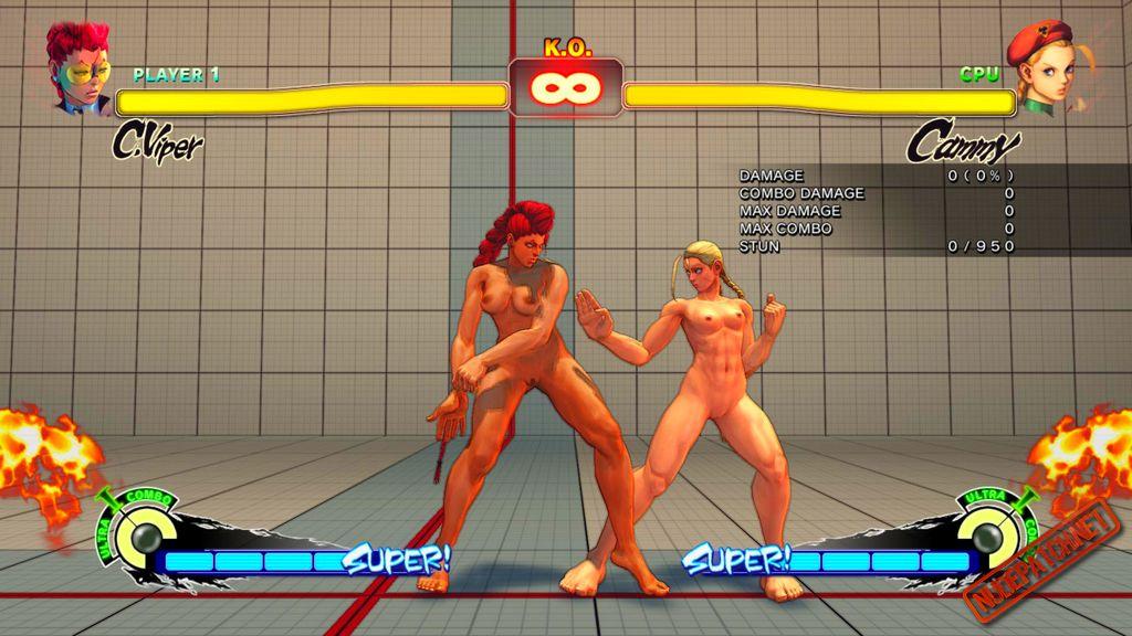 Street Fighter V Sexy Girl Fight