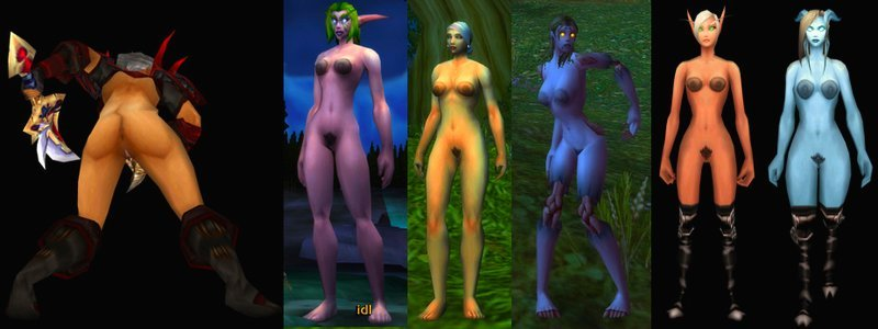 Wow cata compatible nude patch
