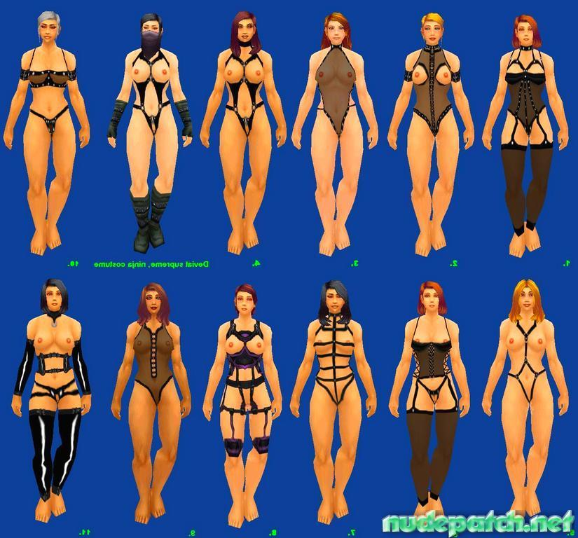 Multiple Wow Nude Mod