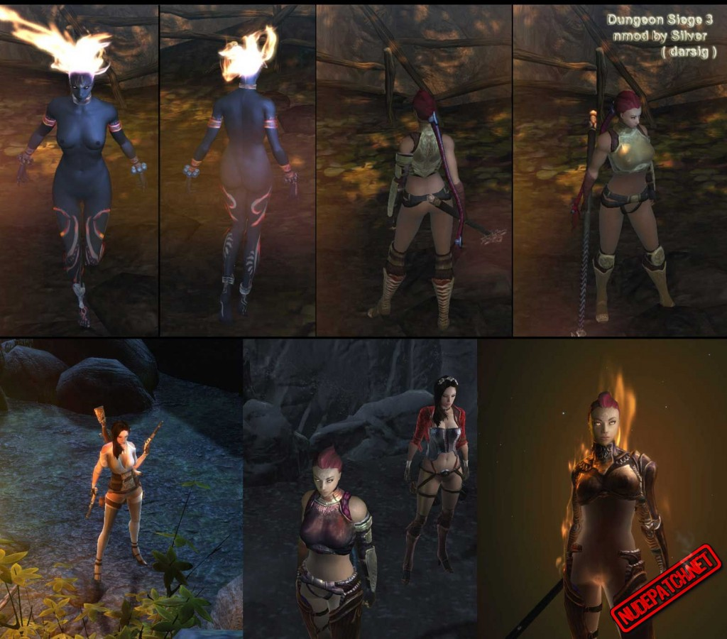 Dungeon Siege 3 nude mod 1