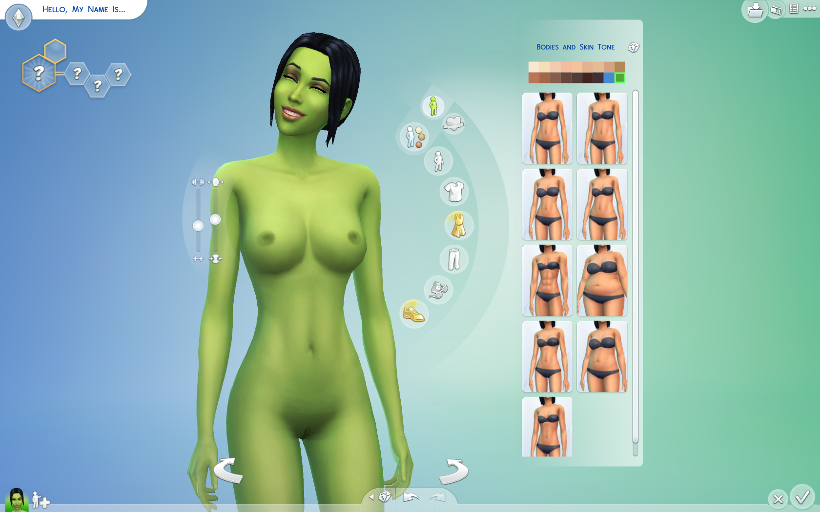 Sims female nude skins congratulate