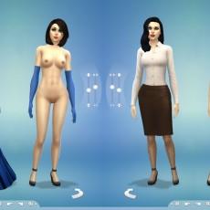 Sims 4: nude mod