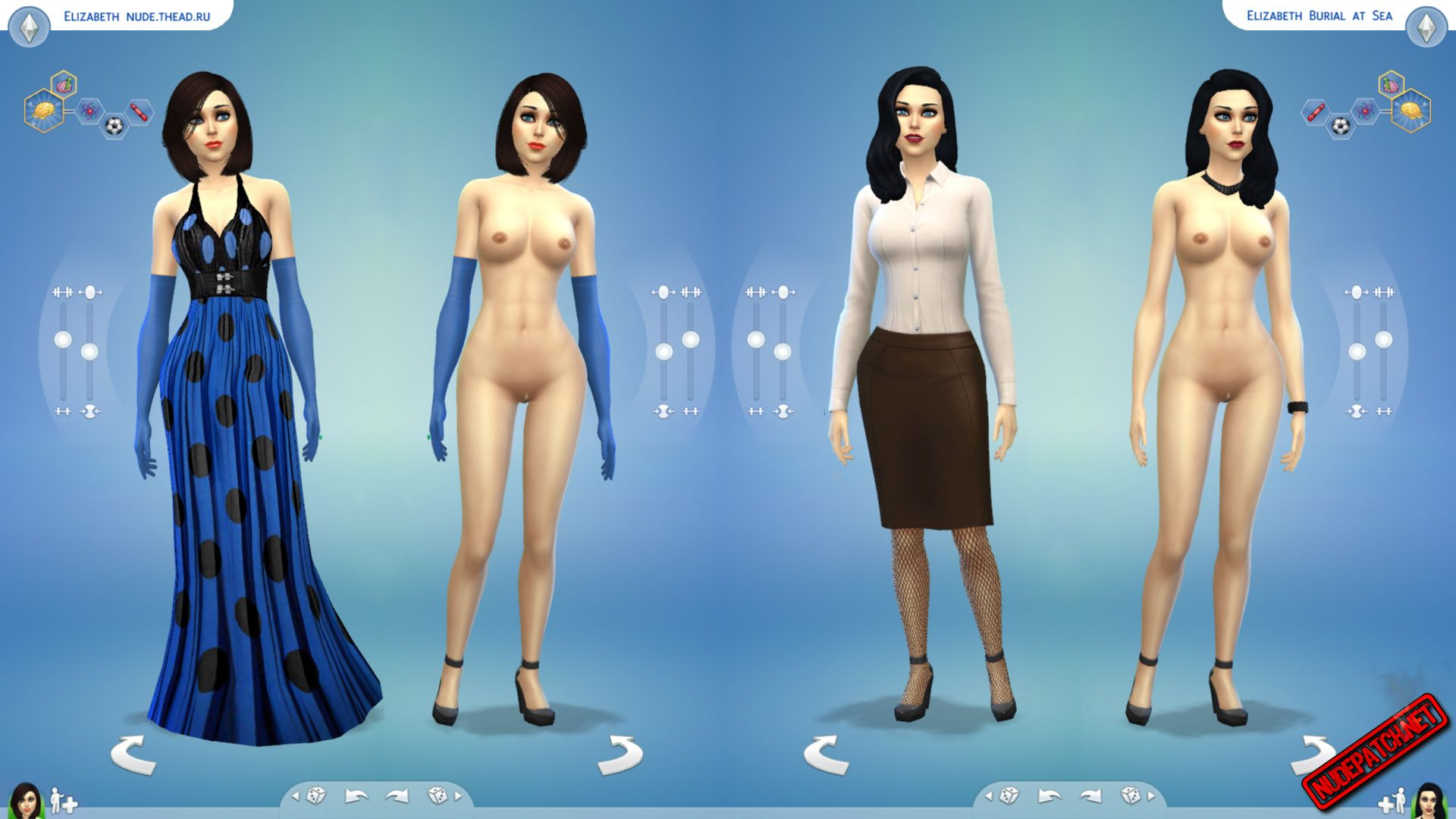 Think, the sims nude skin shaven female