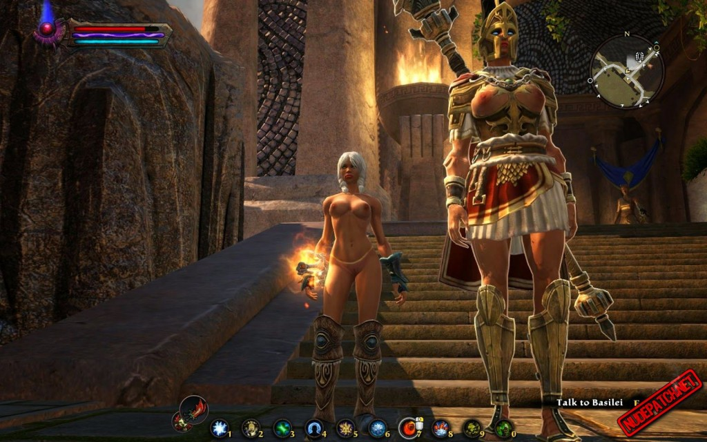Teeth of Naros DLC nude