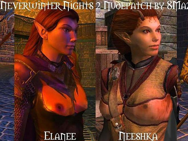 Naked neverwinter nights characters