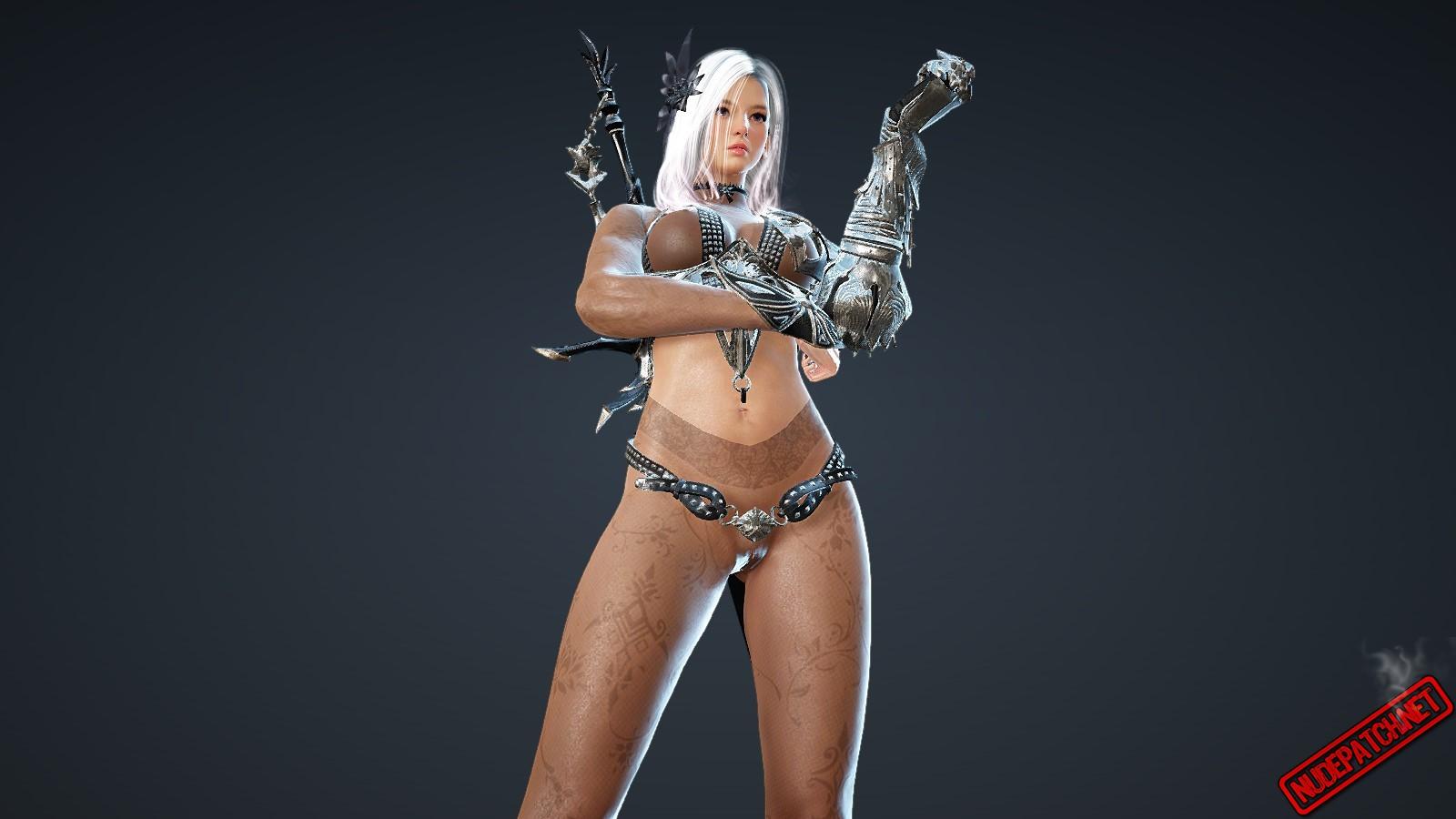Armor suit nude babe photos 76
