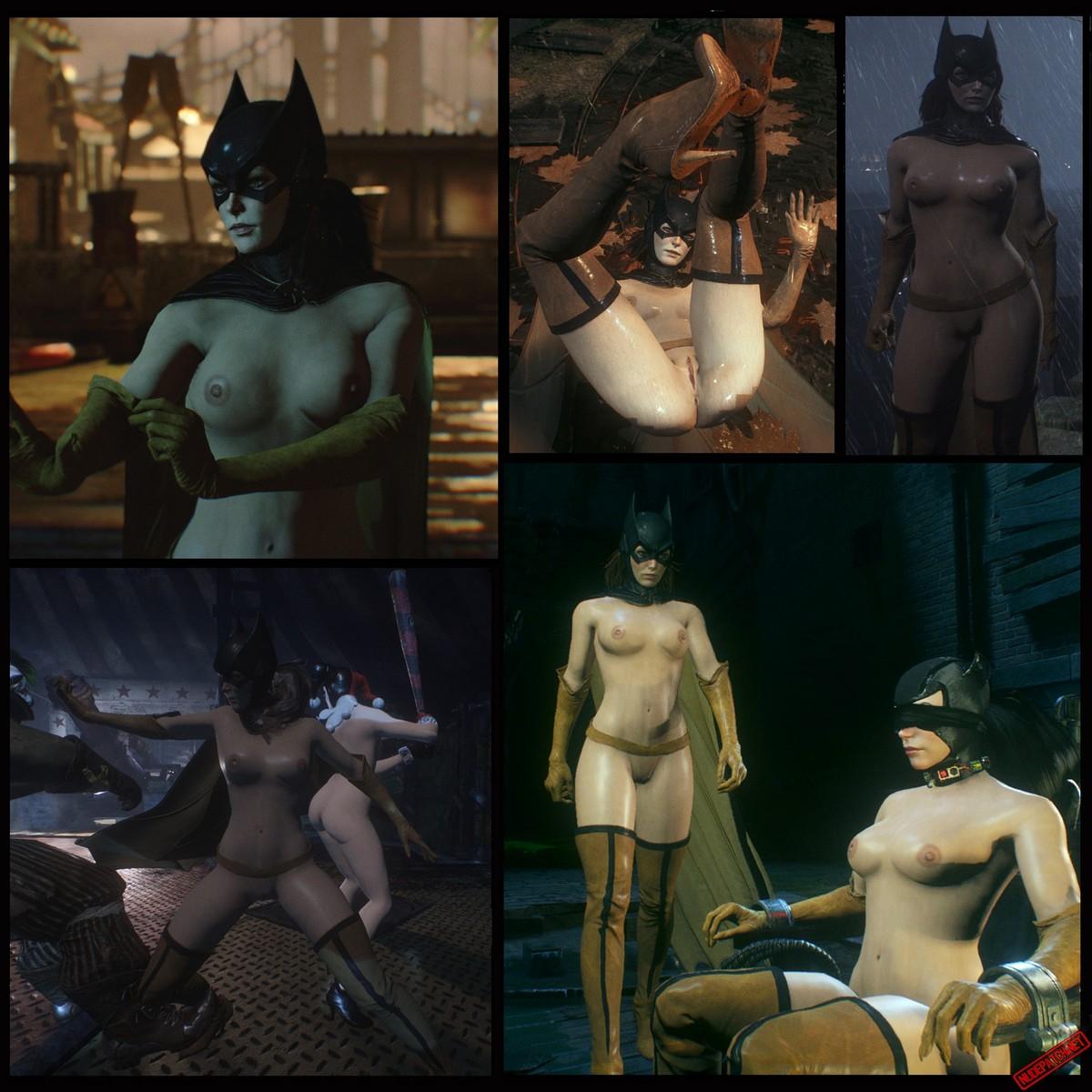 Naked batgirl Batgirl's Thrills