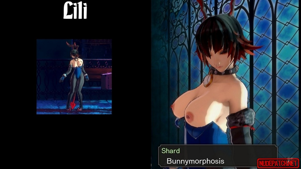 Bloodstained Ritual of the Night_nude mod for monsters_pic_5