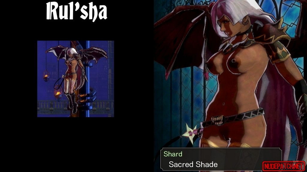 Bloodstained Ritual of the Night_nude mod for monsters_pic_6