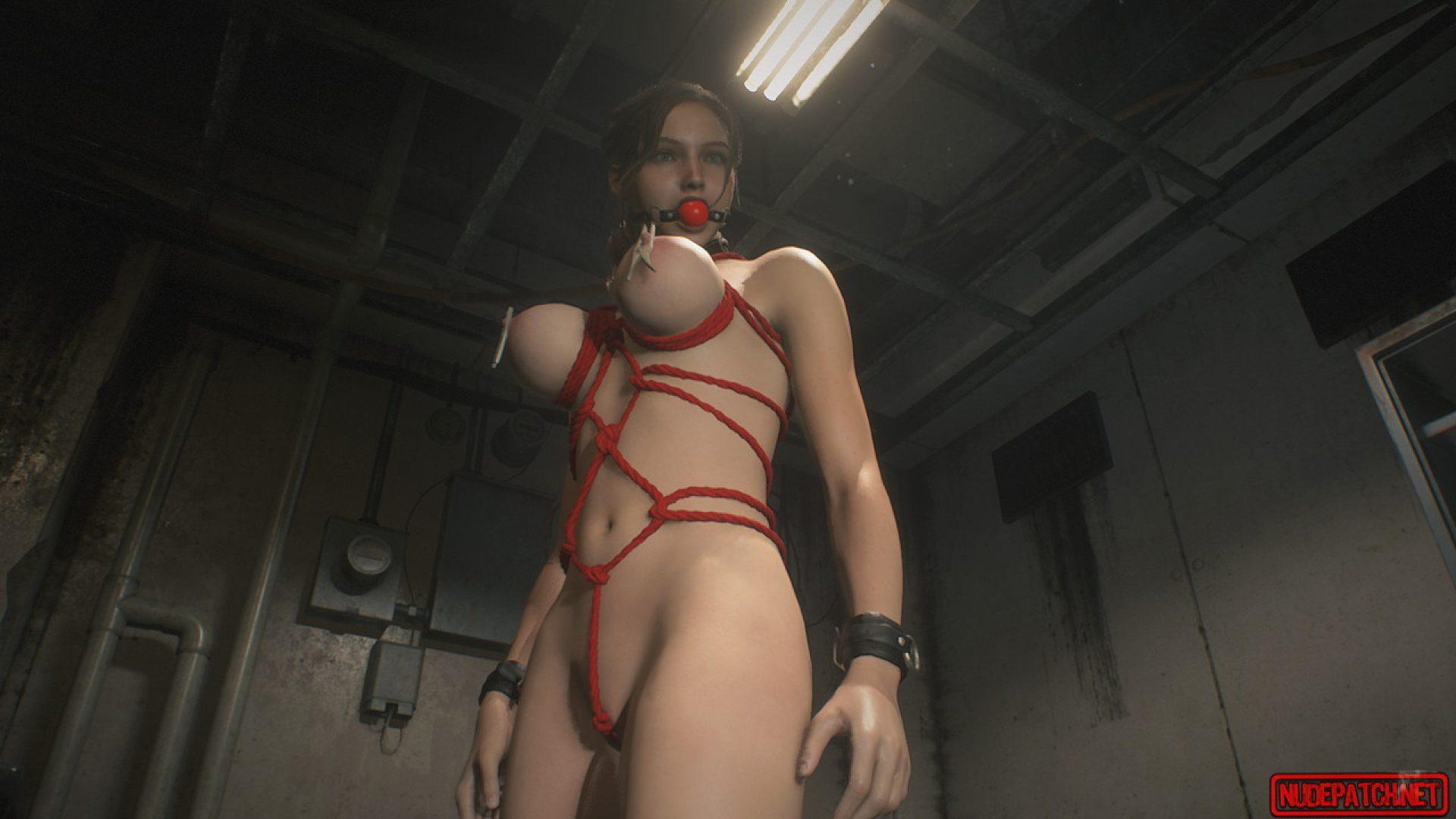 バイオハザードre2 mod 全裸