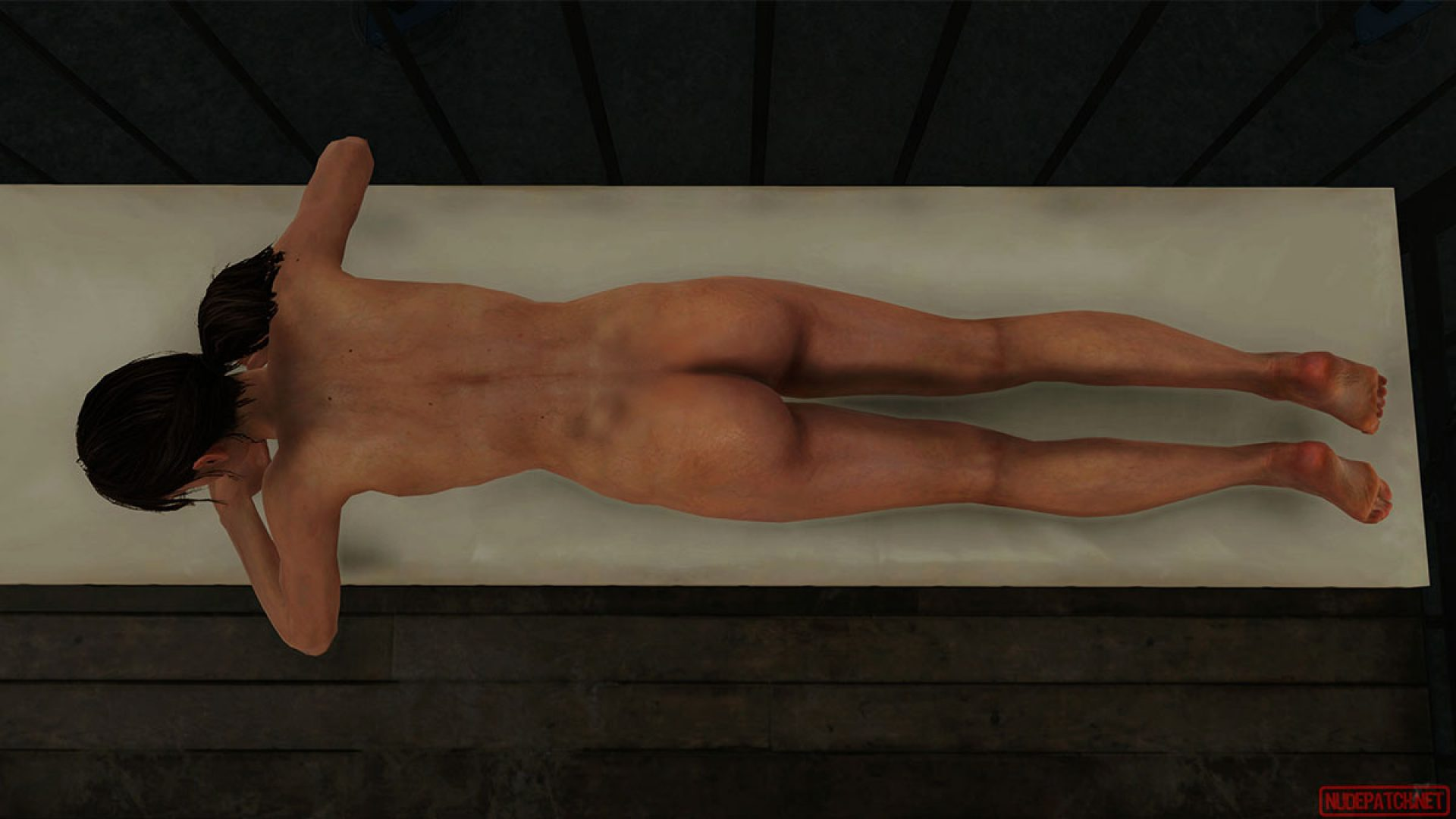 V naked