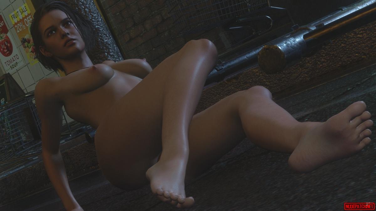 Resident Evil 3 Nude Mod