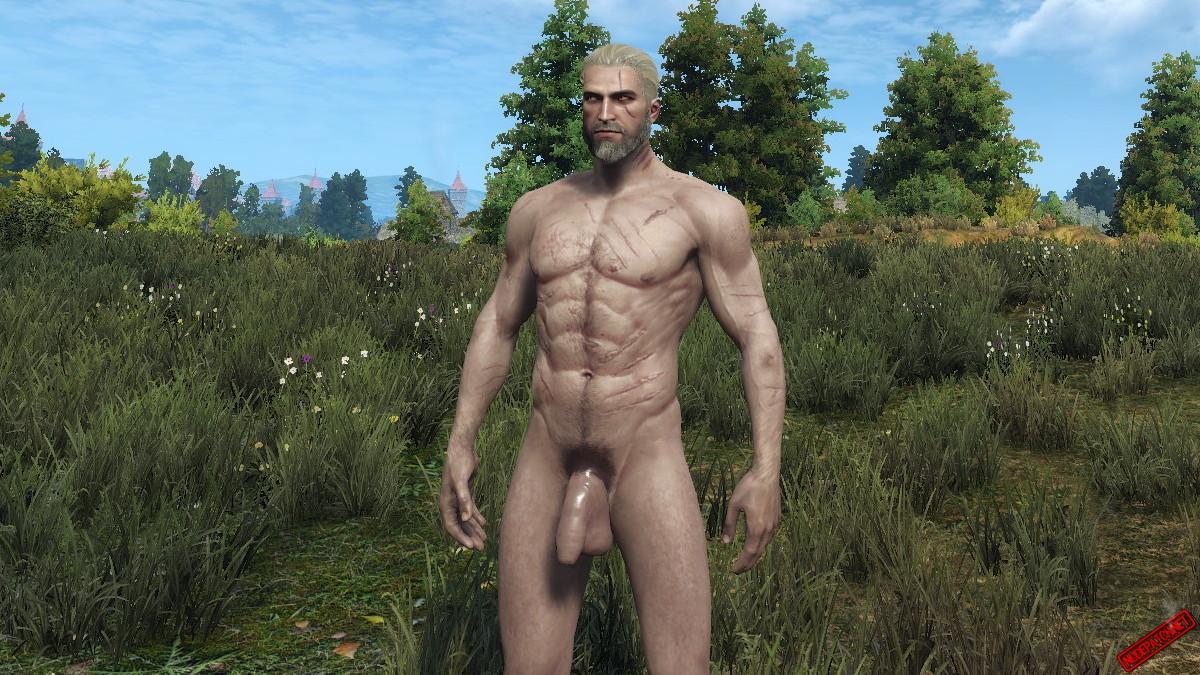 Nude mod ciri Naked Skins