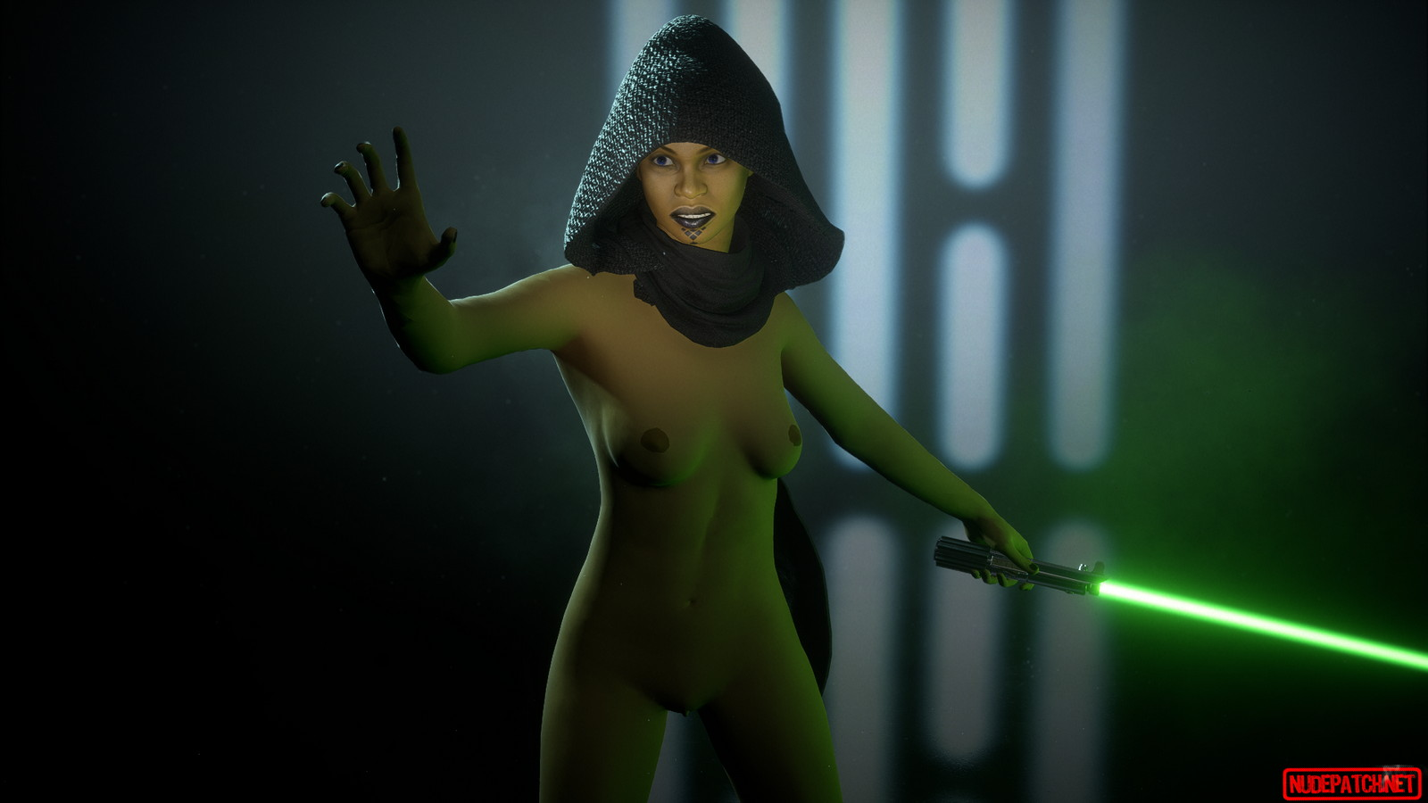 Naked star wars