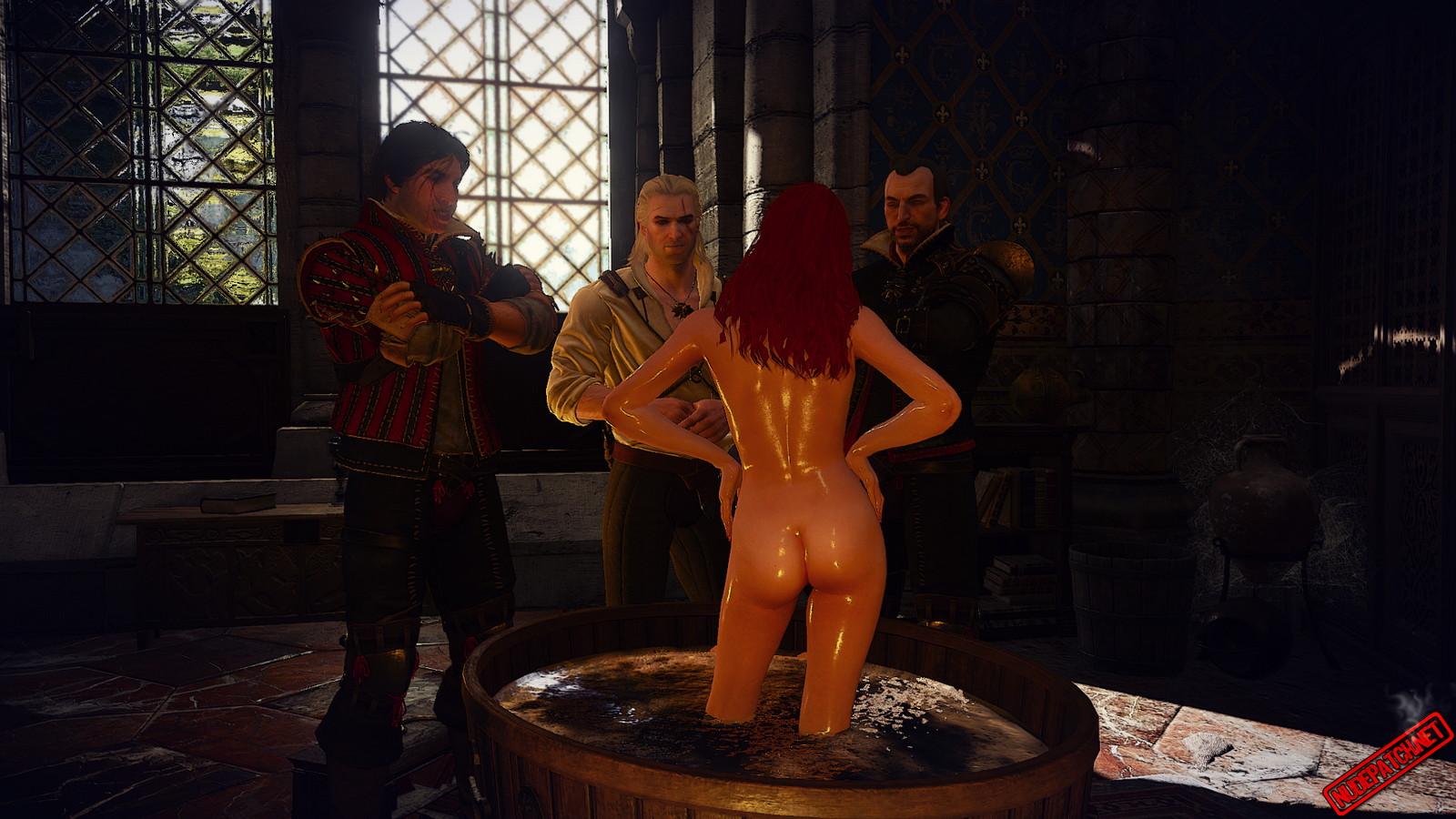 Witcher 3 ciri naked