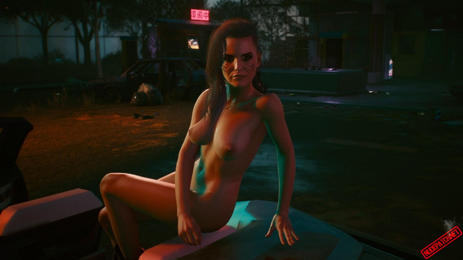 Cyberpunk 2077 Nude Mod