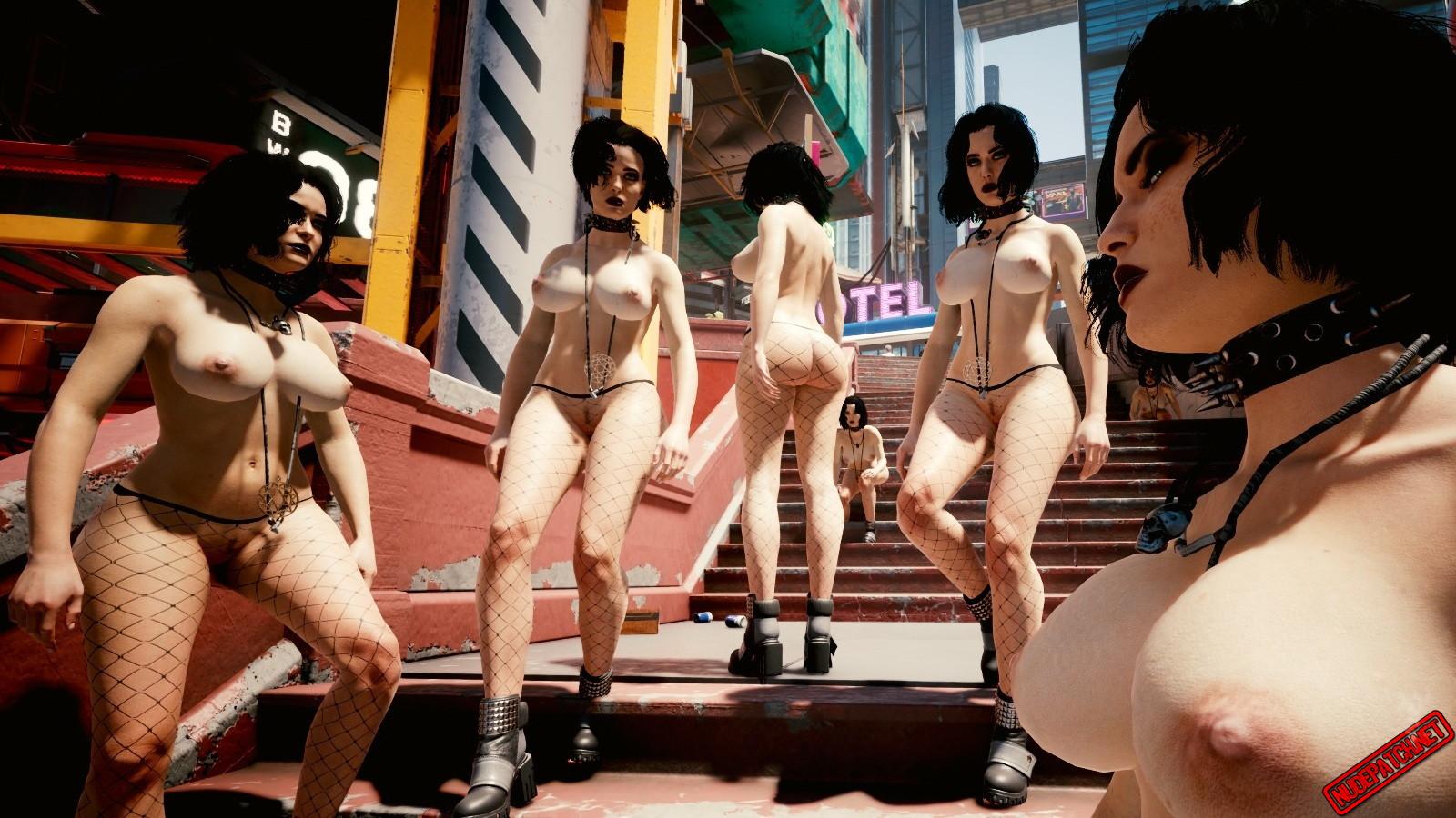 Cyberpunk 2077 Nude Skins