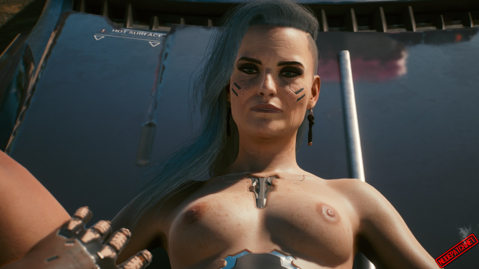 Cyberpunk 2077 Rogue Nude Mod
