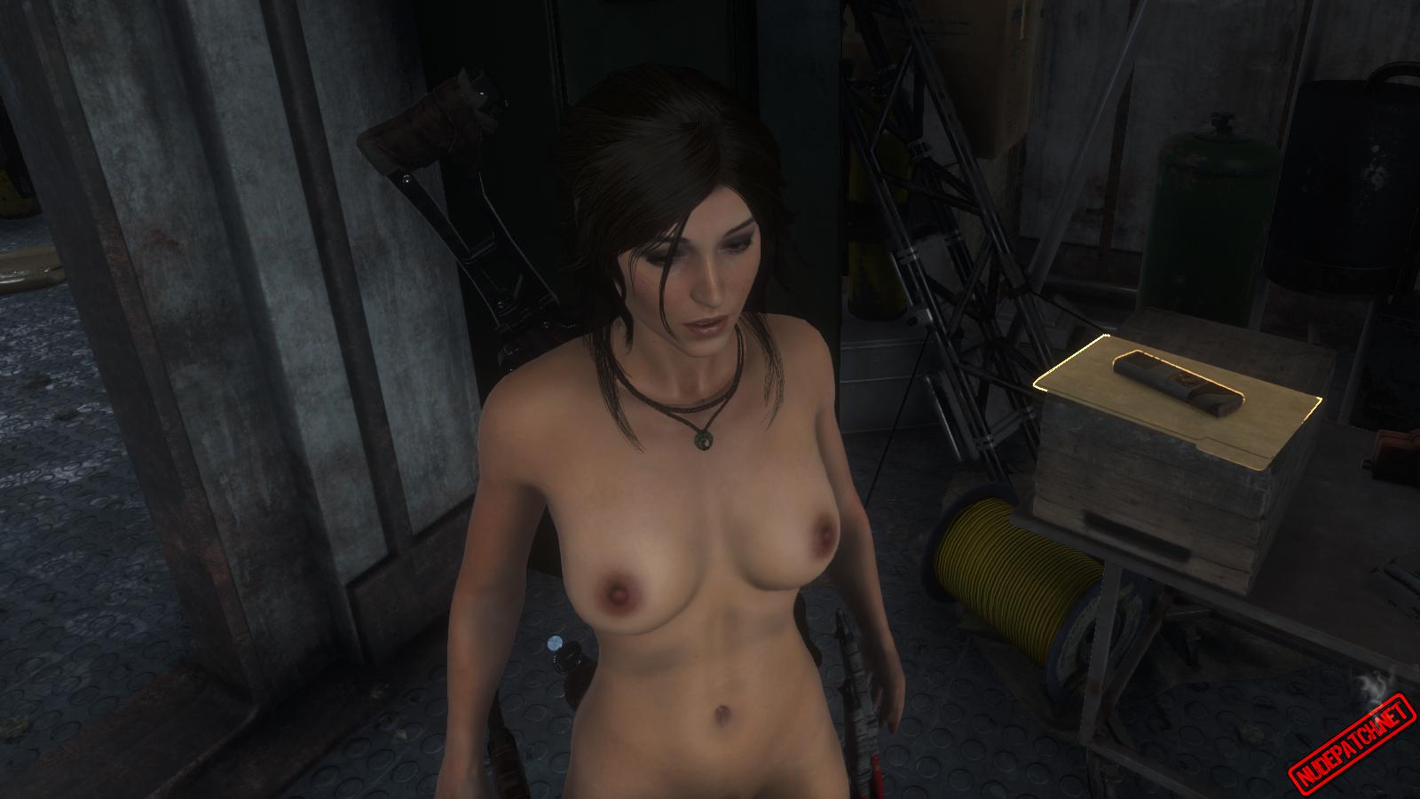 Rise of the Tomb Raider Naked Lara