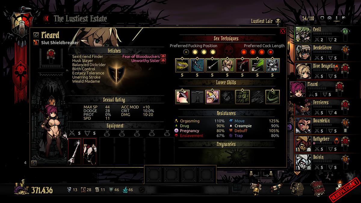 Darkest Dungeon futa mod