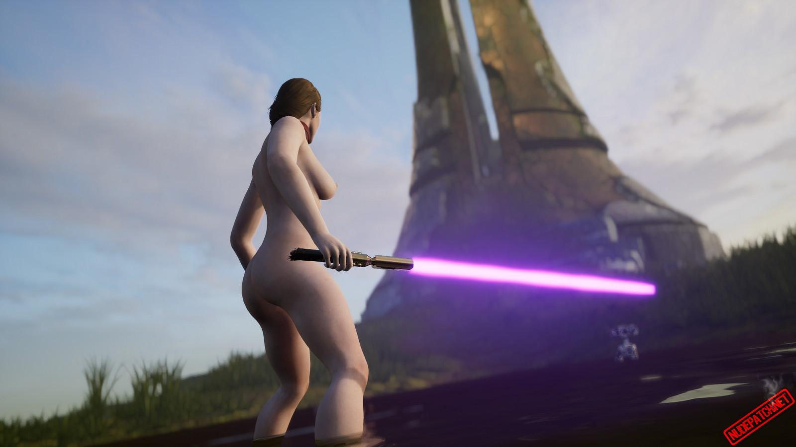 Star Wars Jedi: Fallen Order Naked Gal