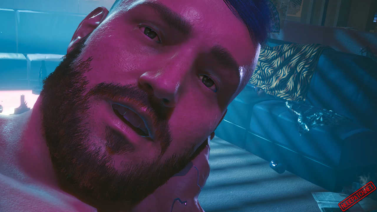 Cyberpunk 2077 Nude Basketball Thug