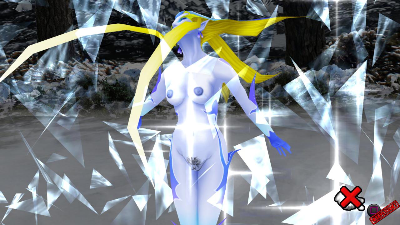 Final Fantasy VIII Remastered Naked G.F. Shiva