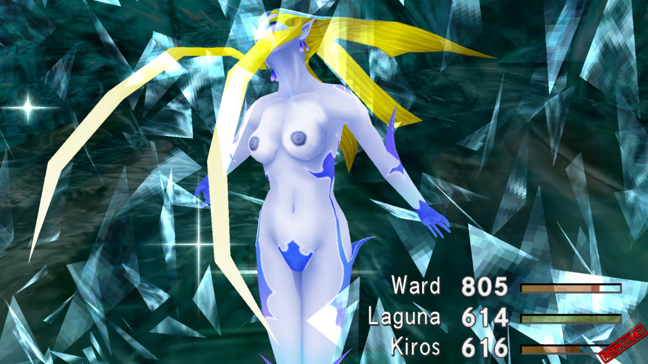 Final Fantasy VIII Remastered nude mod