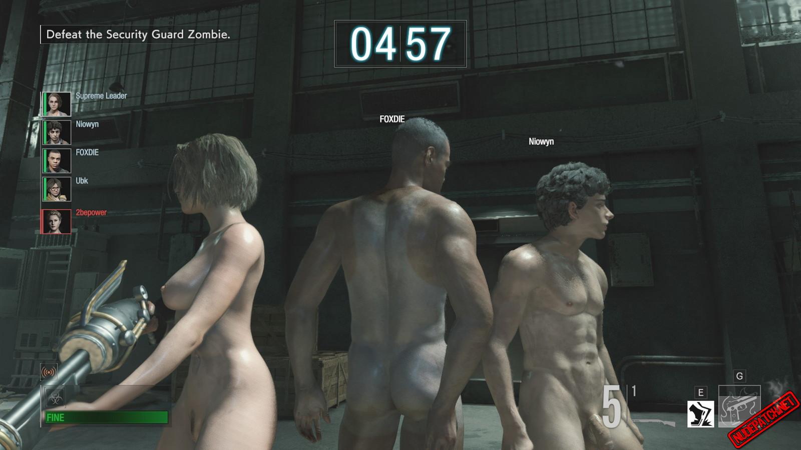 Evil nude resident 7 All Resident