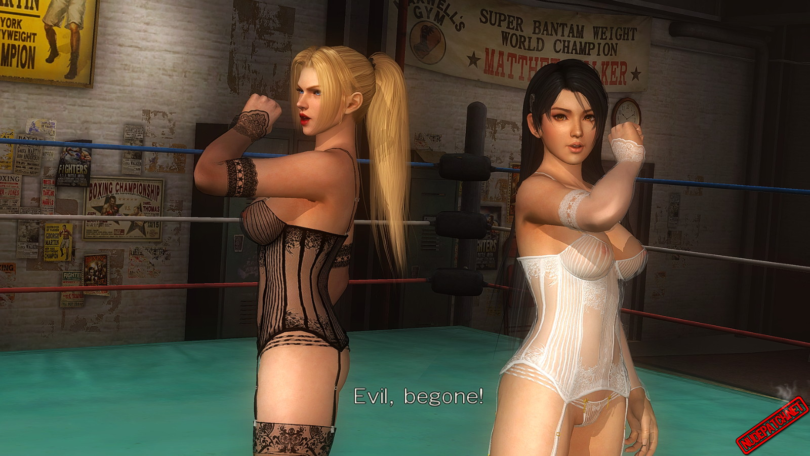 Round 5 patch dead alive last or nude Dead or