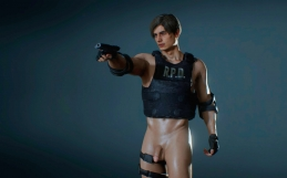 RE2R Sexy Cop Leon mod