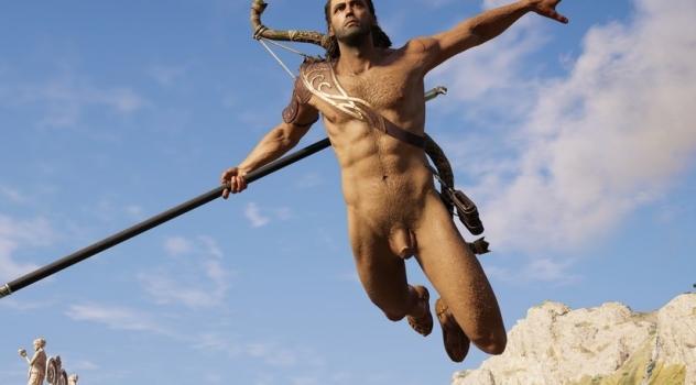 Assassin's Creed Odyssey: Alexios Nude Mod