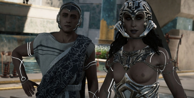 Assassin's Creed Odyssey  Juno Topless Mod