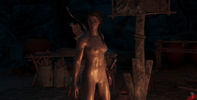 Assassin's Creed Odyssey: Kassandra Nude Skin