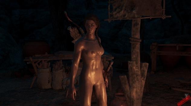 Assassin's Creed Odyssey: Kassandra Nude Skin
