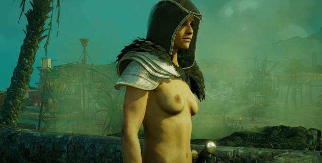 Assassin's Creed Origins Amunet Topless Mod