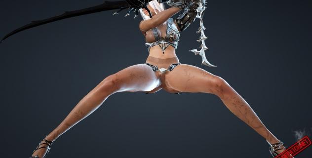 Black Desert Online Nude Patch – Dark Knight Armor