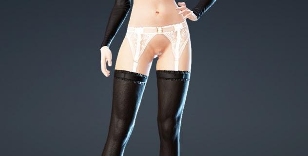 Black Desert Online Nude Patch – Queen Heart Underwear