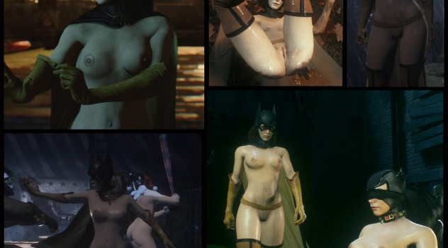 Batman Arkham Knight: Batgirl Nude Mod