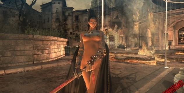 Bayonetta Nude Mod
