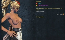 Blade and Soul Nude Patch – Gon [Costume] Devotion
