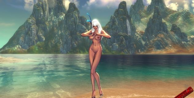 Blade and Soul: nude mod