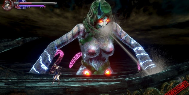 Bloodstained: Ritual of the Night – Female monster nude mod