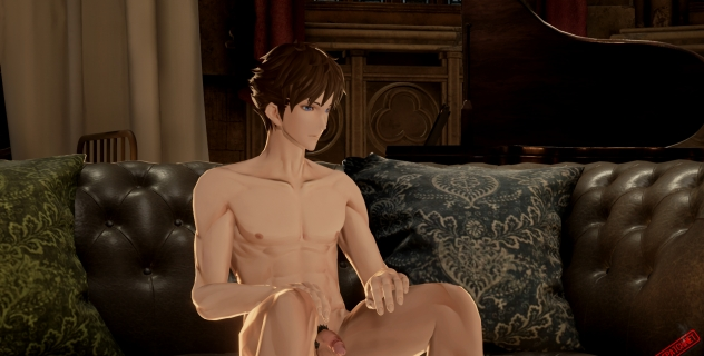 Code Vein: Nude Male Mod