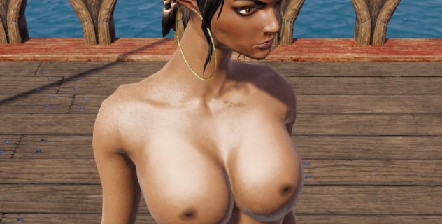 Divinity: Original Sin 2 Definitive Edition – Sebille nude mod
