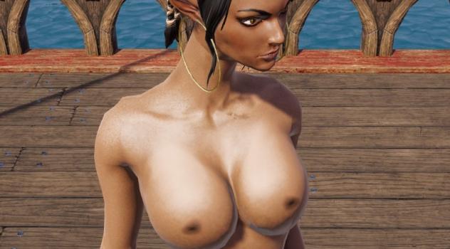 Divinity: Original Sin 2 Definitive Edition – Sebille nude mod